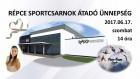Répce Sportcsarnok Átadó Ünnepség