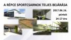 Répce Sportcsarnok teljes bejárása