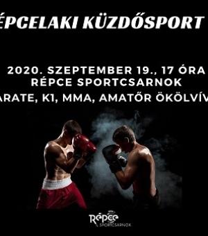 I. Répcelaki Küzdősport Gála szeptember 19-én a Répce Sportcsarnokban!