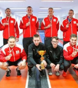 A Szentgotthárd legyőzésével ismét Szuperliga bronzérmes a répcelaki tekecsapat!